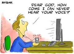 Selective Hearing: giving God your ear